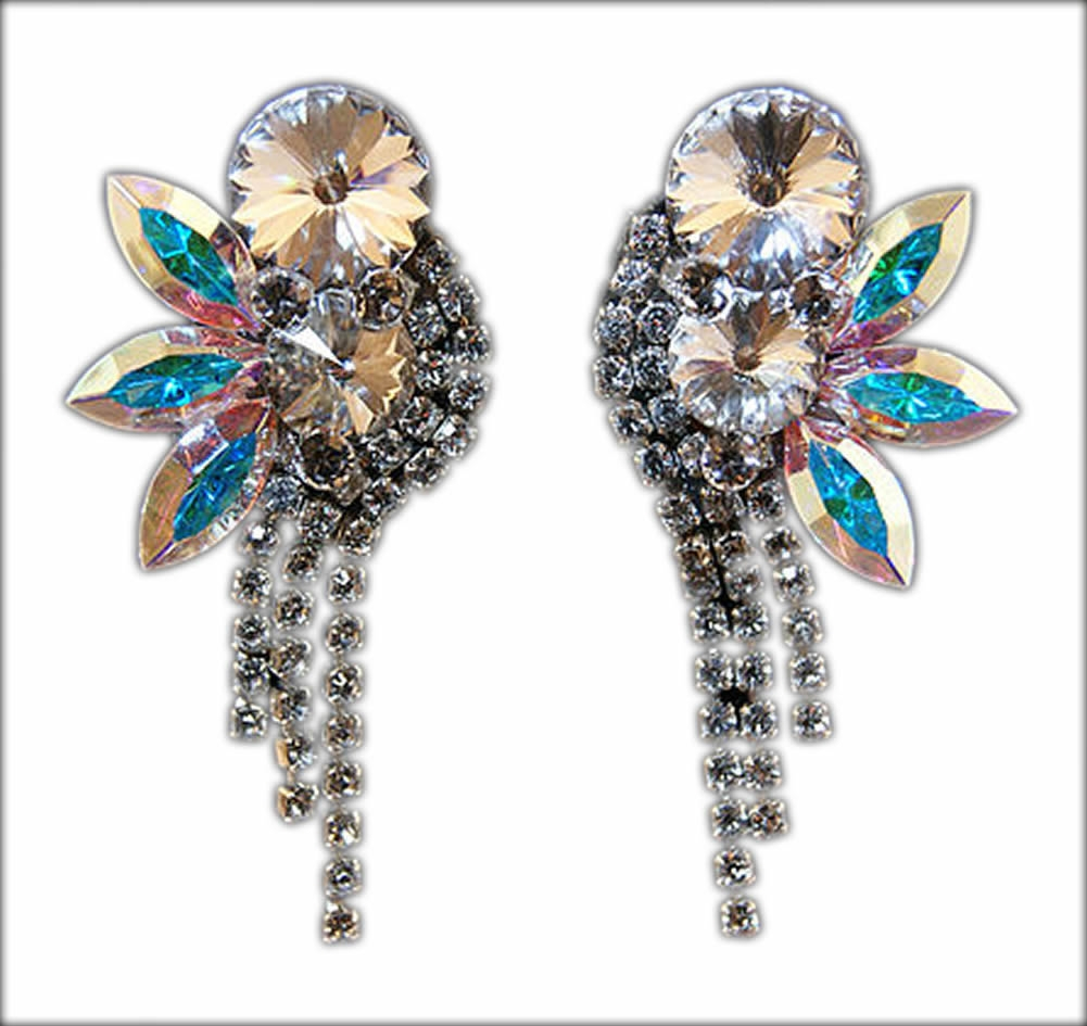 Latin Dance Earrings: Earrings, VEdance, FC120 Earrings, $119.00, From VEdance