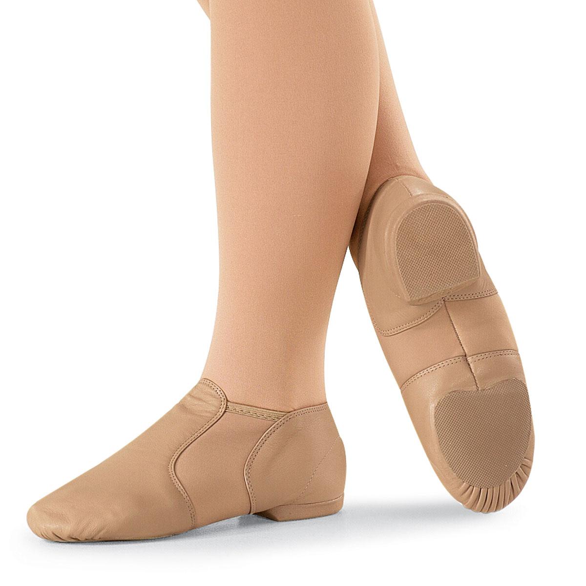 Tan Slip On Jazz Shoes Uk