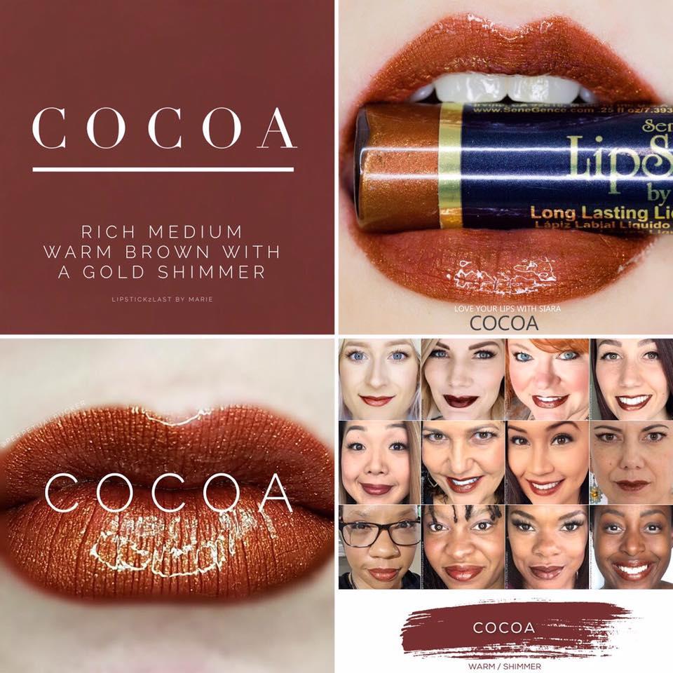 makeup  senegence  cocoa lipsense   25 00  from vedance