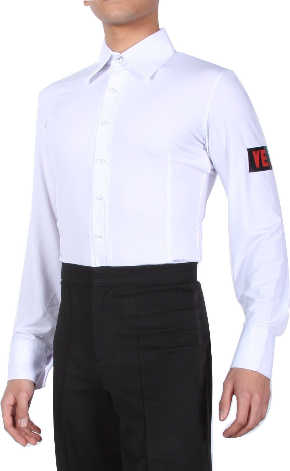 f8c0ffb87 Men's Shirts, VEdance, Men's White Standard Smooth Dance Shirt, $135.00,  from VEdance, the very best in ballroom and Latin dance shoes and dancewear.