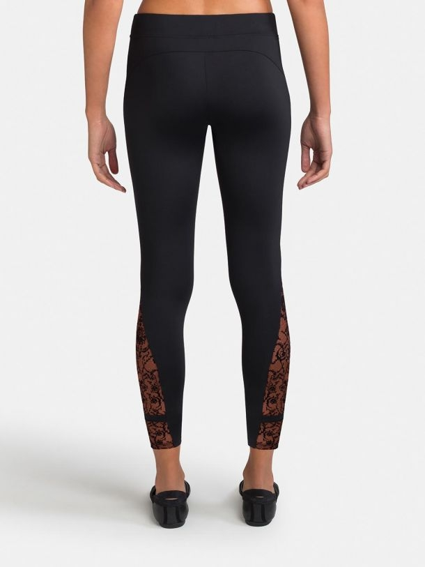 b059828c9fee28 Women's Dance Pants, Capezio, Rococo Riche Legging w/ Mesh Insert 11131W,  $39.00, from VEdance, the very best in ballroom and Latin dance shoes and  ...