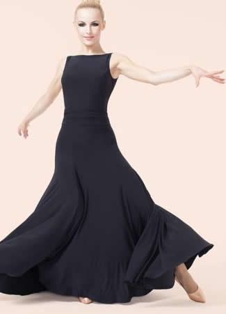 3d13ea3de566e Women's Dresses, Chrisanne, Aura Ballroom Dress, $185.00, from VEdance, the  very best in ballroom and Latin dance shoes and dancewear.