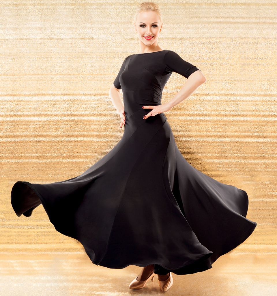 606be425c Women's Dresses, Chrisanne Clover, Zodiac Ballroom Dress, $195.00, from  VEdance, the very best in ballroom and Latin dance shoes and dancewear.