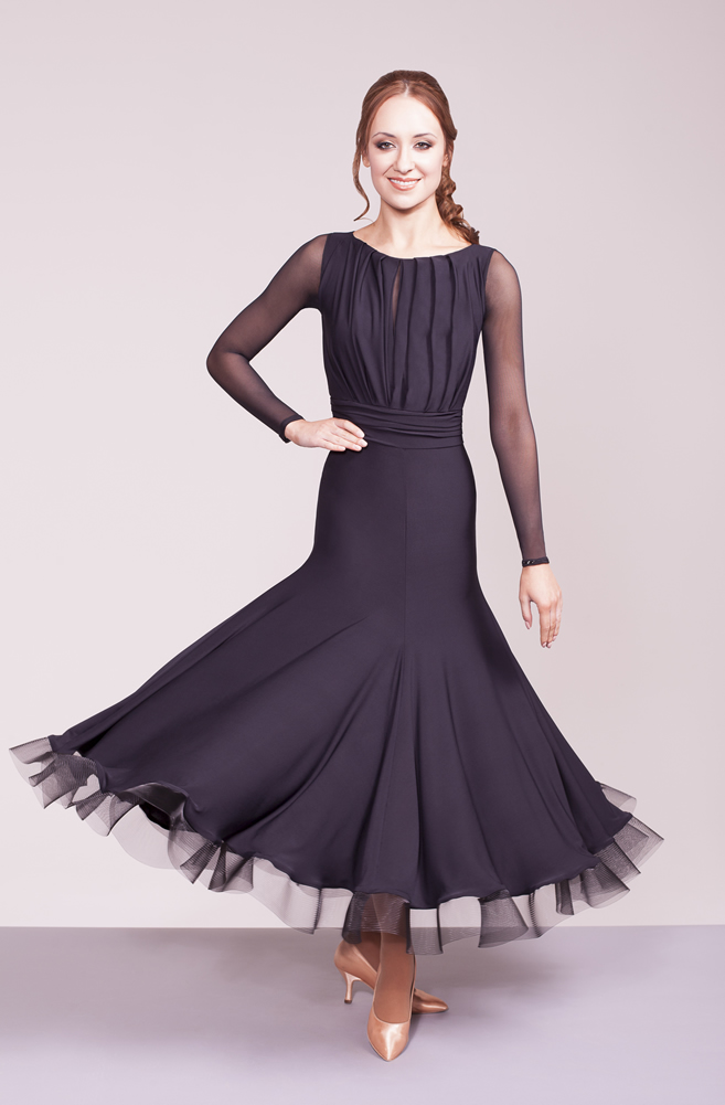 425dc27e3 Women's Dresses, Chrisanne Clover, Evermore Ballroom Dress, $225.00, from  VEdance, the very best in ballroom and Latin dance shoes and dancewear.