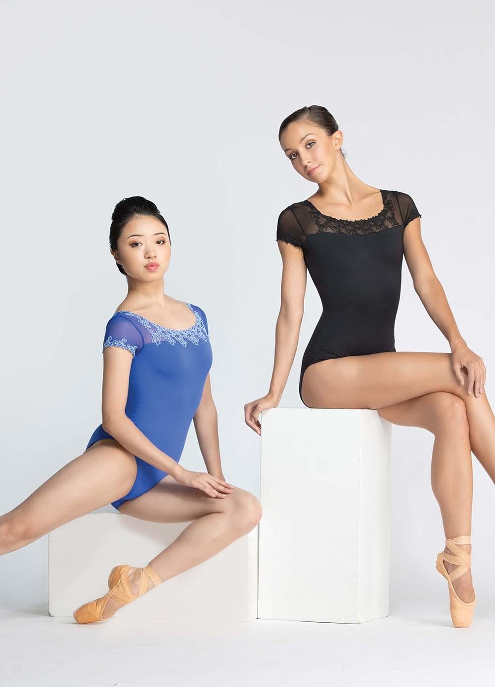 Orange Chiffon Its Fashion Metro Blouses Dark Brown: Women's Leotards, Ballet Rosa, Aurora Leotard, $74.00