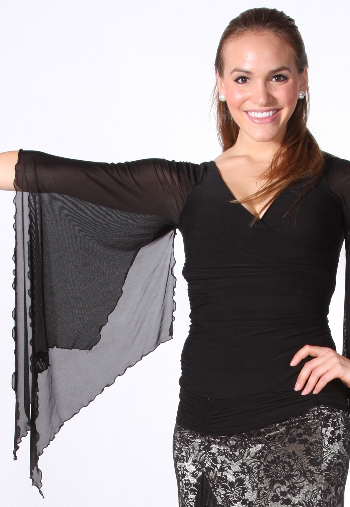 7ec0488d4 Women's Tops, VEdance, Vanessa, $75.00, from VEdance, the very best in  ballroom and Latin dance shoes and dancewear.